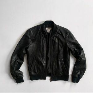 Vintage Calvin Klein S Leather Bomber